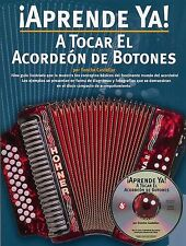 Aprende Ya A Tocar El Acordeon De Botones Play Accordion Music Book &CD