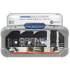 NEW DREMEL MM385 MULTI-MAX TOOL ACCESORY 5 PIECE CUTTING KIT WITH STORAGE CASE