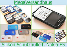 TPU COVER CASE f. Nokia E5 E 5 00 SCHUTZ HÜLLE HANDY Silikon Tasche Schale Etui