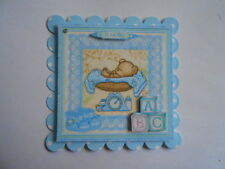 PACK 2 BABY BOY BLUE SCALES  FOR CARDS & CRAFTS