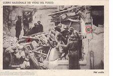 #CORPO NAZ. VIGILI DEL FUOCO..NEL CROLLO- PRO FIGLI DEI VV.F. CADUTI IN GUERRA