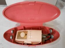 vintage Singer sewing machine attachment for slant in pink case