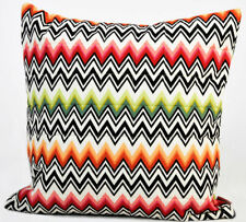"""MISSONI HOME QUILTED PILLOW COVER MASTER MODERNO COLLECTION NED 156 COTTON 16"""""""