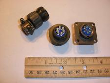NEW - MS3106A 14S-6P (SR) and MS3102A 14S-6S - 6 Pin Mating Pair