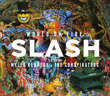 World on Fire [Slipcase] by Slash (Saul Hudson) (CD, Sep-2014, Dik Hayd Records)