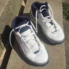 ORIGINAL 90's Nike Air max Uptempo white/blue, Mens high top trainers - size 9.5