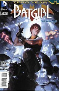 Batgirl Comic 25 The New 52 Cover A First Print 2014 Marguerite Bennett DC