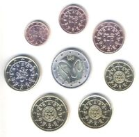Portugal 2009 - Set of 8 Euro Coins (UNC)