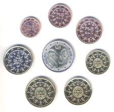 Portugal 2009-Juego De 8 Monedas De Euro (unc)