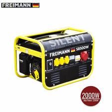 Freimann FM-S8500W:  Benzingenerator Stromgenerator Notstromaggregat