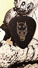 Zz Top Dusty Hill 2010 tour guitar pick (black devil)