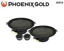 """Phoenix Gold Z65Cs 6.5"""" 2 Way Component System 40W Rms 80W Peak"""