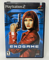 Endgame (Sony PlayStation 2, 2001) Complete Tested Working PS2