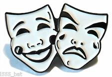 Comedy and Tragedy Theatre Masks Acting Stage Theatrical Performing Arts Badge