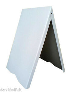 A-BOARD PAVEMENT ADVERTISING MENU SANDWICH BOARD Free Delivery Available PVC