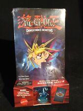 VTG Yugioh Dungeon Monsters VHS, Card, & Figure DDM Blue Eyes White Dragon NEW