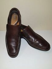 Cole Haan Nike Air Brown Pebble Grain Leather Driving Moccasin/Loafers Sz. 10 M