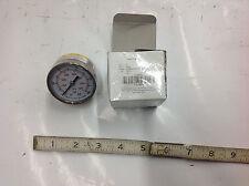 """Grainger 4FMV6, 2"""" Stainless Steel Test Pressure Gauge 0-1000 psi. 1/4"""" NPT. NEW"""