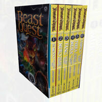 Beast Quest Series 6 Adam Blade 6 Books Collection Boxed Set Pack NEW