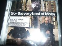 Moby – Go - The Very Best Of Moby 2 CD With Remixes Disc – New