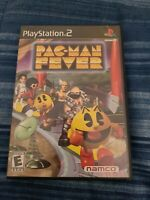 Pac-Man Fever PlayStation 2 PS2 Complete With Manual Video Game Multiplayer Game