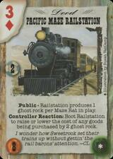 Doomtown: Pacific Maze Railstation [NM/Lightly Played] Episode 4 Deadlands CCG