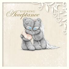 Wedding - Evening Acceptance - Tatty Teddy Me to You -  Wedding Card