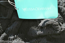 £424 NEW MELISSA ODABASH CROCHET / KAFTAN / COVER UP DRESS with slip SIZE Small