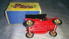 voiture cars matchbox 1911 T FORD NEW MODEL yesteryear lesney (SÉRIE 1) box