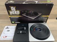 No Game!! DJ Hero turnable kit mixing deck - Xbox 360 No game!!