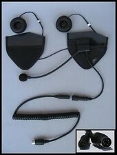 IMC HS-H170P HALF HELMET HEADSET FOR 7 PIN AUDIO SYSTEMS