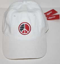 Kith x Coca Cola Peace Dad Cap Hat White IN HAND