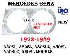Right Headlight Cover Door Bezel Lenz For Mercedes R107 380SL 450SL 450SLC 560SL