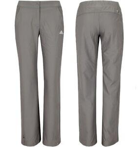 Adidas Donne Outdoor Pantaloni Stretch da Trekking Cargo Grigio/Braun