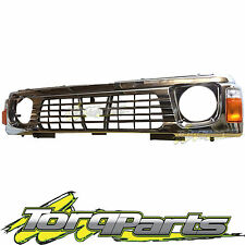 GRILLE & INDICATORS SUIT GQ PATROL NISSAN 94-97 SERIES 2 Y60 CHROME GRILL 4WD