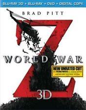 World War Z 3d 0032429138149 With Brad Pitt Blu-ray 3d Region a