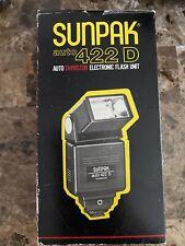 Sunpak Auto 422 D Auto Thyristor Electronic Flash Unit