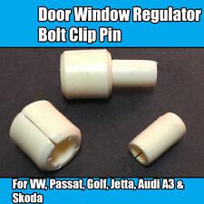 2x Clips For VW Passat Door Window Regulator Bolt Clip Pin Golf Jetta Audi Skoda