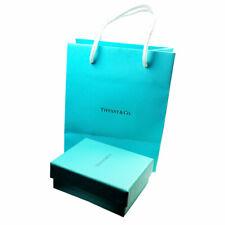 Tiffany & Co. Scatola Regalo Blu vuota, Pouch, shopping bag 3pc Set IMBA