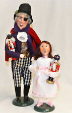 Byers Choice Drosselmyer & Clara Nutcracker Suite Carolers - New - Free Shipping