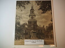 VTG PUZZLE INDEPENDENCE HALL PHILADELPHIA PA WEIS PURE FOOD STORES ADVERTISEMENT
