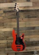 Squier Affinity Series 4 String Precision Bass PJ Guitar Race Red #0310500570