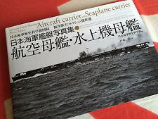 JAPANESE NAVAL WARSHIP PHOTO ALBUM AIRCRAFT & SEAPLANE CARRIER Fukui Diamond Sha