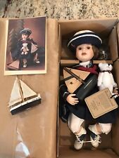 Boyds Collection - Yesterdays Child Doll - Betsie 4805 Porcelain Doll w/ COA