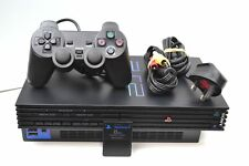 PS2 - Sony PlayStation 2 Black Console with controller