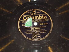 ISOBEL BAILLIE - Ave Maria - Columbia 78 Record