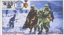 JVC CACHETS -2014 PURPLE HEART ISSUE FIRST DAY COVERS FDC - KOREAN WAR -MILITARY