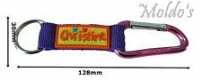Christine name Bright key ring personalized keychain split keyring colorful