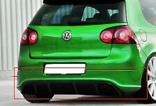 Diffusor for VW GOLF MK5 5 V R R32 LOOK REAR BUMPER SPOILER VALANCE EXTENSION.