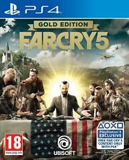 Far Cry 5 Gold Edition (PS4) Brand New and Sealed UK Quick Dispatch
